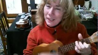 (What a) Wonderful World ...  (Sam Cooke) cover YogaJen & her Kamaka Ukulele