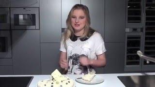 Рецепт торта с кремом из сыра маскарпоне без выпекания. Торт Joy - истинное наслаждение.