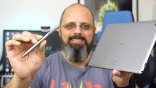Unboxing & Impressions @Huawei $299 MediaPad M5 Lite, M-pen Lite (Video & Audio Samples) Mini Review