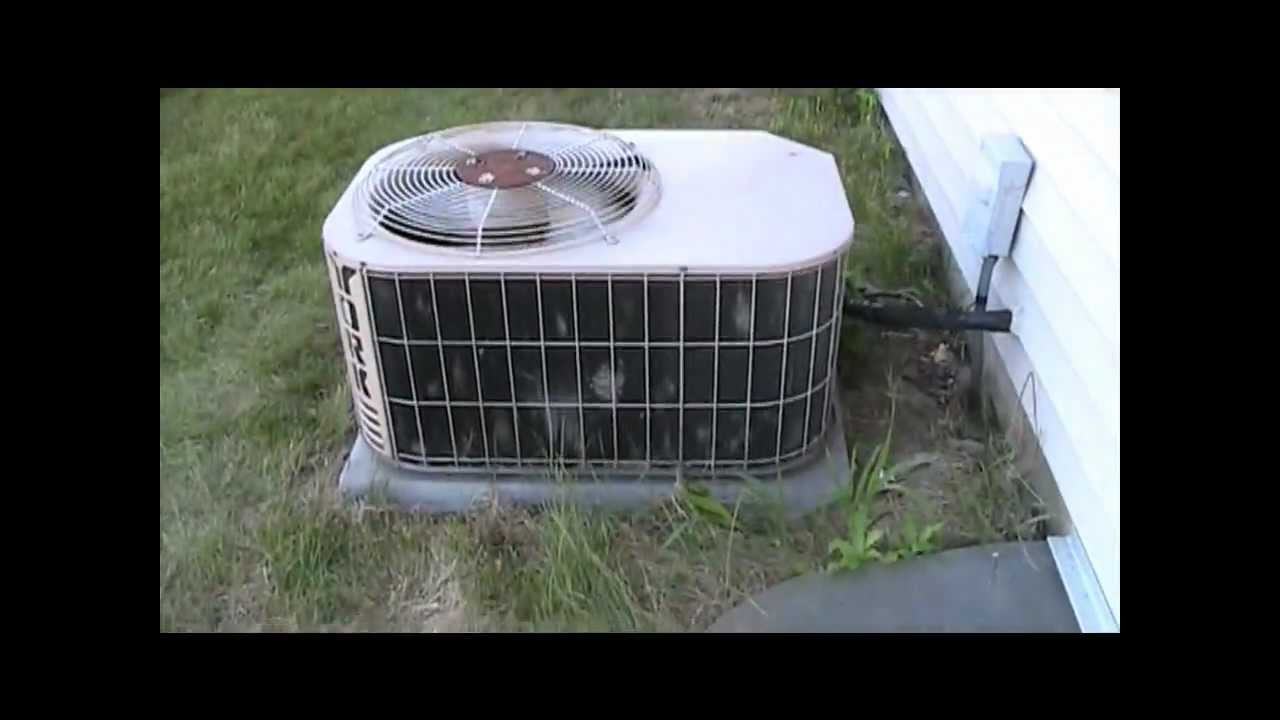 3 Ton Air Conditioner >> 2001 3-Ton York Olympian Series Air-Conditioner Running - YouTube