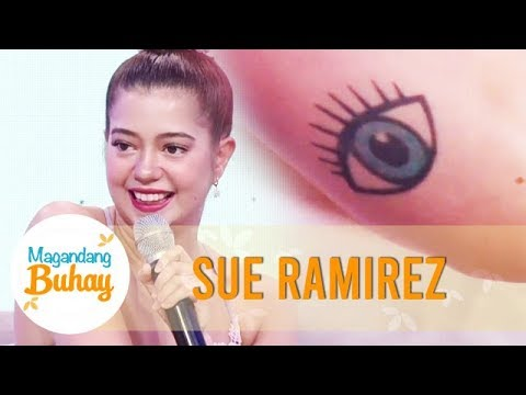 Sue shows and explains the meaning of her tattoo | Magandang Buhay