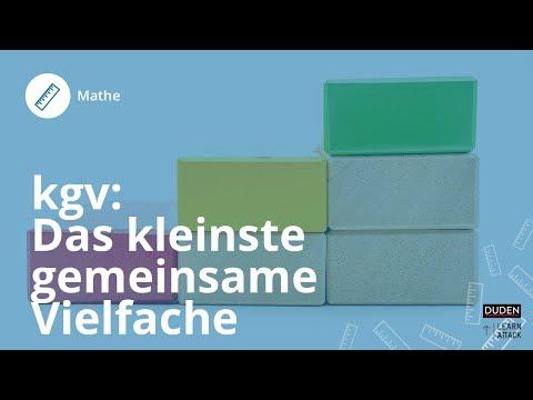 KgV berechnen: Das kleinste gemeinsame Vielfache ermitteln