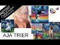 Diamond Painting DIY Kits by AJA TRIER DIYMOON SHOP ARTIST COLLABORATION
