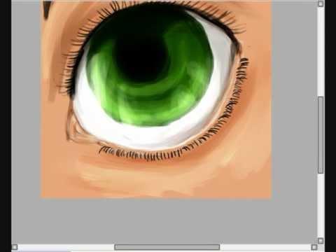 Mei Misaki eye drawing