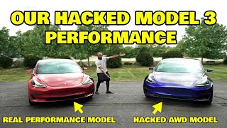 We hacked the Tesla model 3s and it's true potential is INSANE