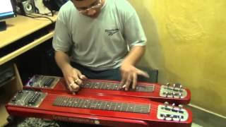Gaane Bhuban Bhoriye Debe-Instrumental-ElectricSteelGuitar By Pramit Das-Film-Deya Neya 1963
