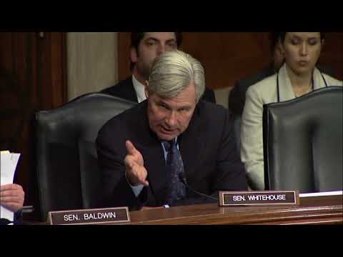 Whitehouse Remarks in HELP Hearing on the Nomination of Alex Azar to be HHS Secretary
