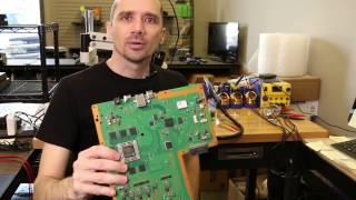 PS4 HDMI Port Repair - White Light of Death Fix - No Signal