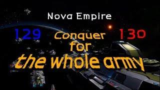 노바제국 Nova Empire  ️ 엘리트 서버 Galaxy war_129 vs 130 #05 Last episode