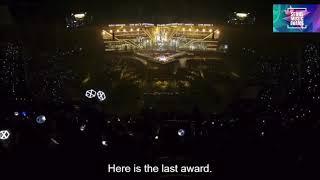 حفلة SMA لحظة فوز BTS بالديسانغ 2017