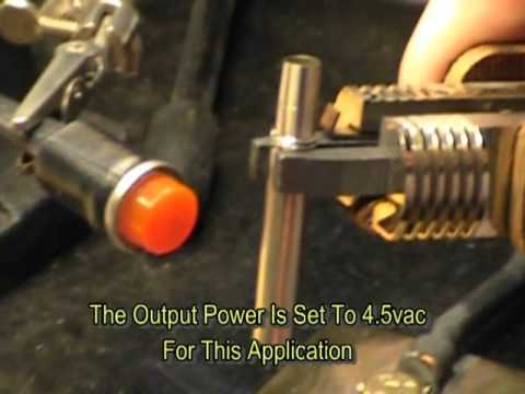 Soldering Nickel-Silver Alloy 752. - YouTube