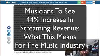 Musicians To See 44% Increase In Streaming Revenue: What This Means For The Music Industry