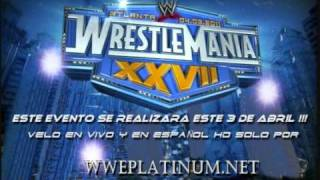 "WRESTLEMANIA 27 CANCION OFFICIAL ""THEME SONG"" ""WRITTEN IN THE STARS"""