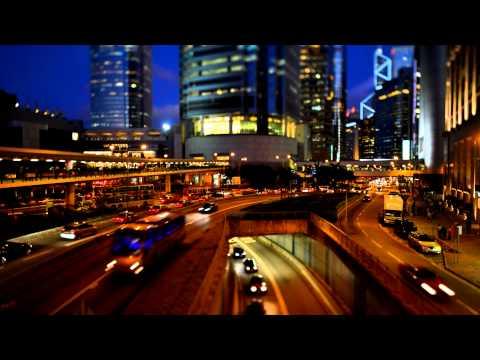 Hongkong busy traffic