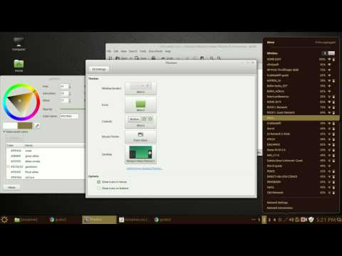 How To Change Linux Cinnamon Theme Colors and More