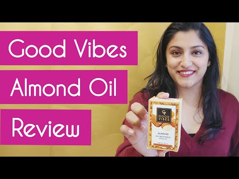 Good Vibes Almond Facial Oil Review | Almond Oil for Face | Glow Skin and Clear Skin |