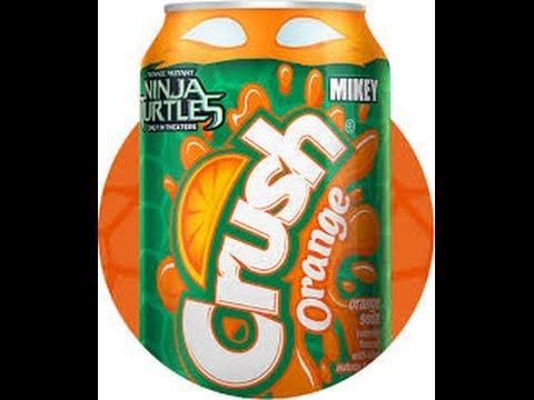 NINJA TURTLES 2014 Orange CRUSH-Michelangelo Soda Review