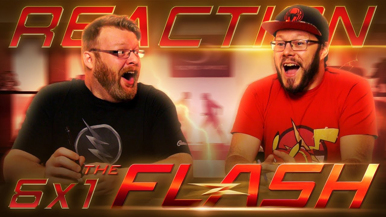 """Download The Flash 6x1 REACTION!! """"Into the Void"""""""
