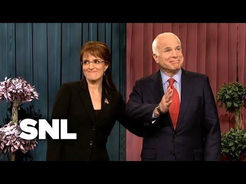 John McCain and Sarah Palin Do QVC - SNL
