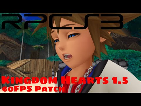 PS3 Emulator] RPCS3 | Kingdom Hearts 1 5 | 60FPS Patch - YouTube