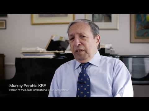 Murray Perahia announced as Patron of Leeds International Piano Competition (long)