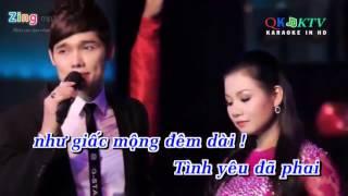 Cõi nhớ Lưu Chí Vỹ ft Dương Hồng Loan karaoke beat YouTube 720p