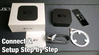 Apple TV 4K: How to Connect / Setup Step by Step + Tips
