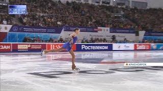 Показываем как в Красноярске прошел Чемпионат России по фигурному катанию