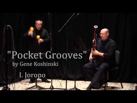 """Pocket Grooves"" by Gene Koshinski  (I. Joropo)"