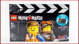 LEGO MOVIE 2 70820 LEGO Movie Maker Construction Toy - UNBOXING