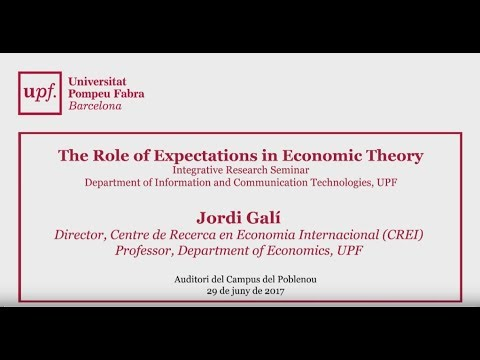 The Role of Expectations in Economic Theory