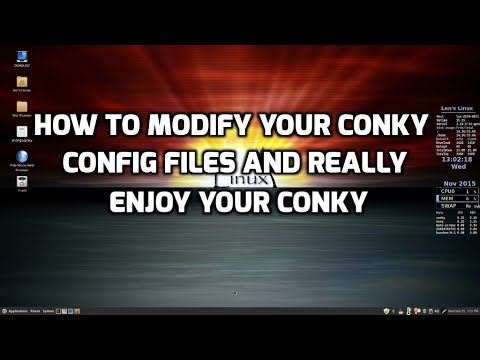 How to Modify Your Conky Files