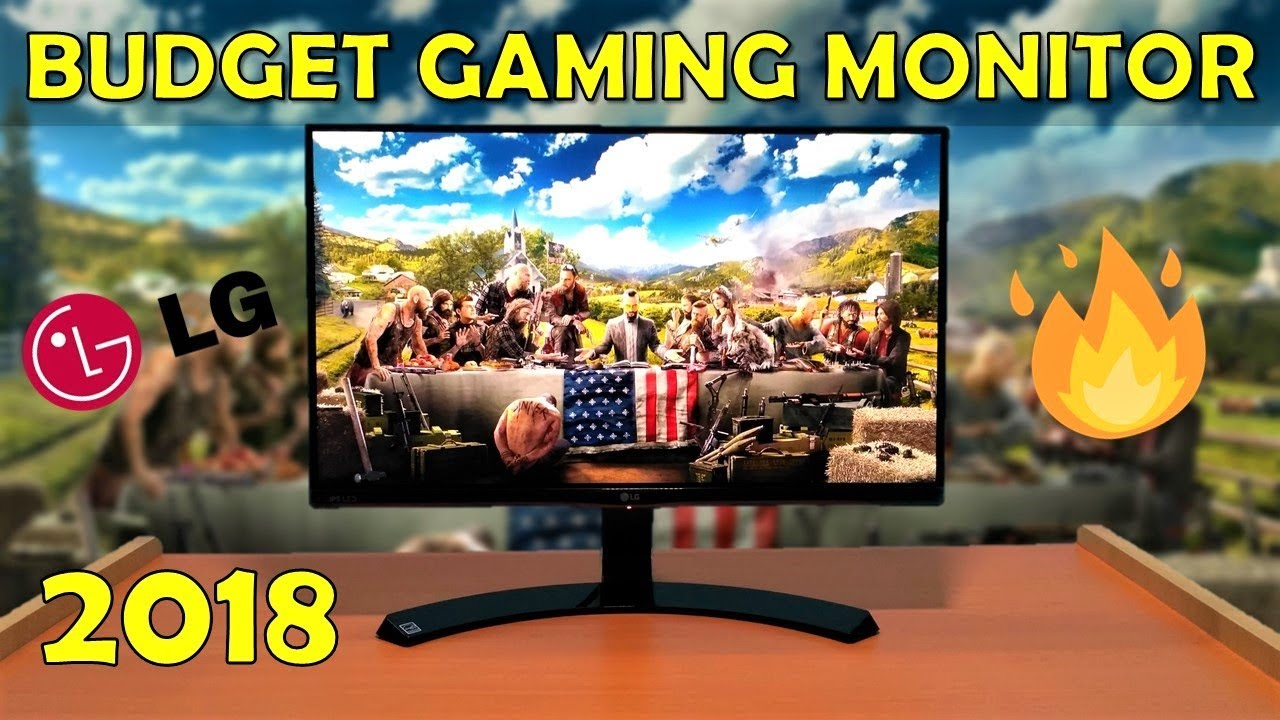 Best 1080p Gaming Monitor Under Rs10000 Lg 22mp68vq Review And Ips Led 22 Inch Unboxing Hindi