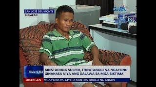 Saksi: Arestadong suspek, itinatanggi na ngayong ginahasa niya ang dalawa sa mga biktima