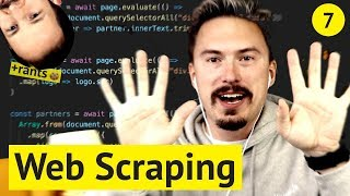Web Scraping with Node.js & Puppeteer (🌋 rants included, no extra charge)