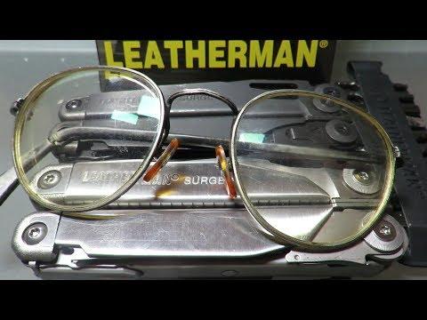Leatherman New Surge, No Small Bit Driver (Eyeglass Screwdriver) ?