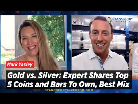 Gold vs Silver: Expert Shares Top 5 Coins and Bars To Own, Best Mix