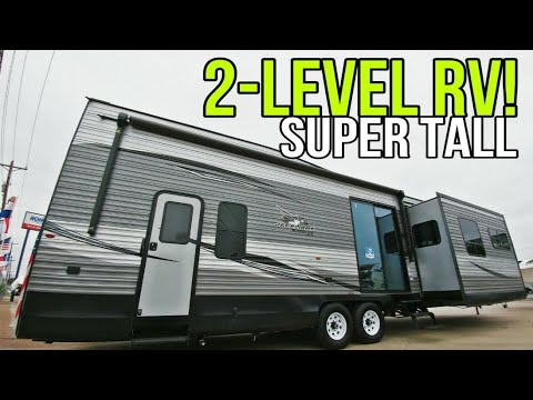 Twin Level Destination Travel Trailer RV From Jayco! 40LOFT