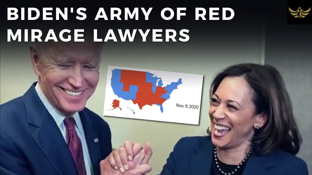Democrats assemble MASSIVE army of attorneys, ready to execute RED MIRAGE