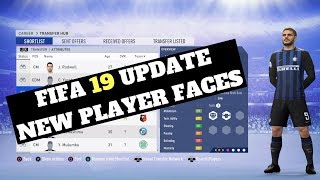 FIFA 19 November Update: 40+ New Player Faces!