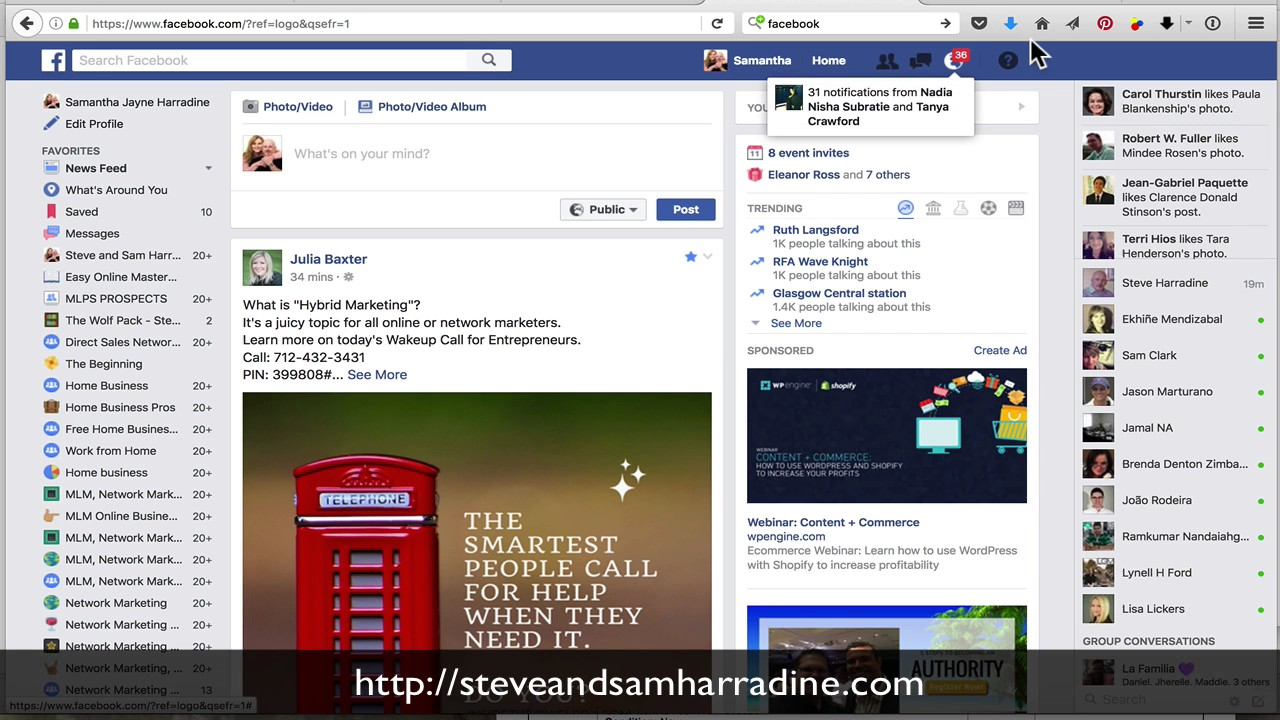 How to change facebook business page to personal