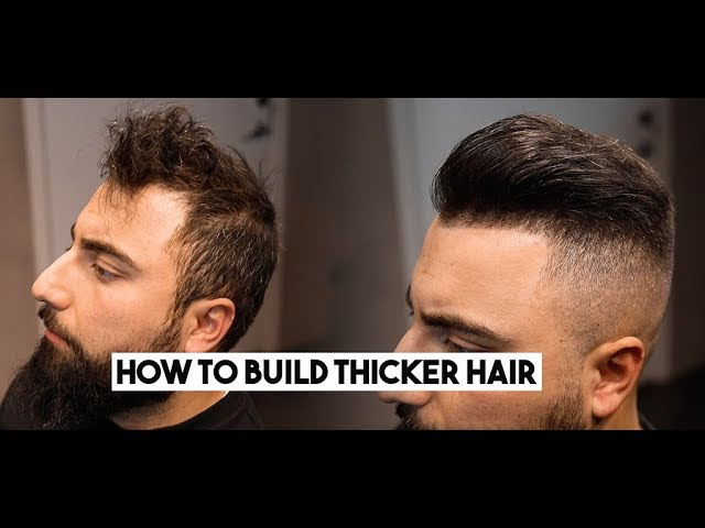 Get Back Thicker And Fuller Hair Hair Building Fibers 2019