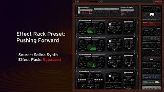 Free Effect Rack Preset: Pushing Forward