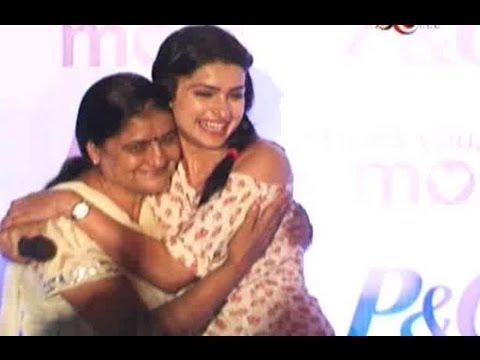 Prachi Desai Celebrates Mother's Day On ZoOm