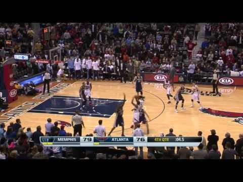 Memphis Grizzlies vs Atlanta Hawks | February 8, 2014 | NBA 2013-14 Season