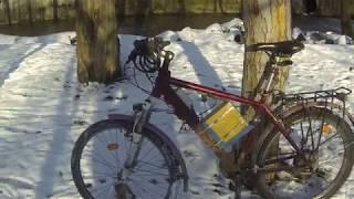 Обзор электровелосипеда для зимы.