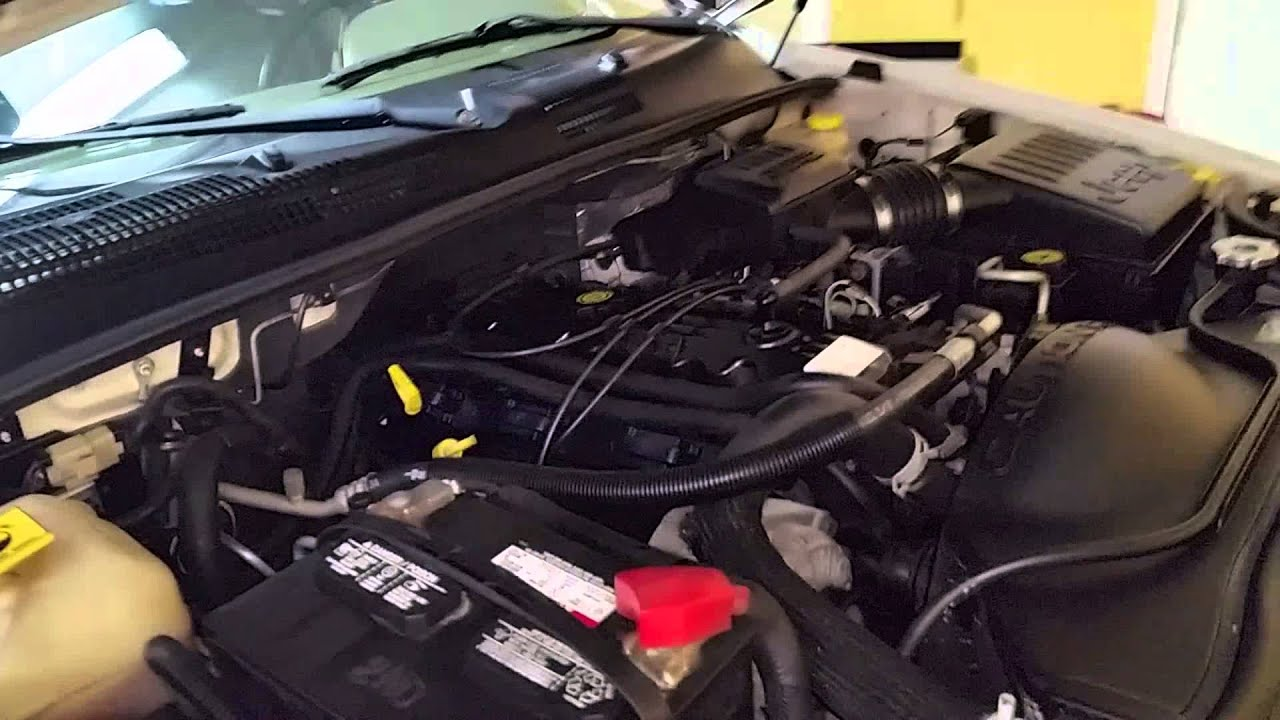 2004 Jeep Grand Cherokee Engine Diagram Single Line Wiring 99-04 Ac Only Blows From Defrost Vent. - Youtube