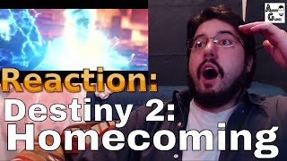 Reaction: Destiny 2: Zavala's Story -AND- Homecoming Trailer #AirierReacts