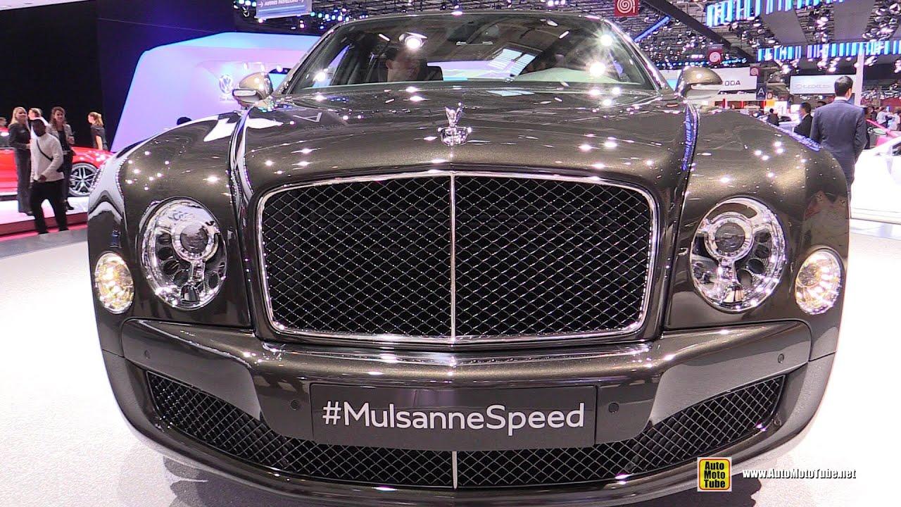 2015 Bentley Mulsanne Speed - Exterior and Interior Walkaround ...
