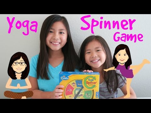 Yoga Spinner Game By Thinkfun Unboxing and Demonstration